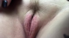 showing how puffy and wet I am from porn