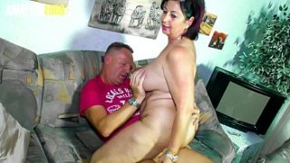 amateur euro bbw wife liana b shoot her very first porn movie and she enjoy every minute