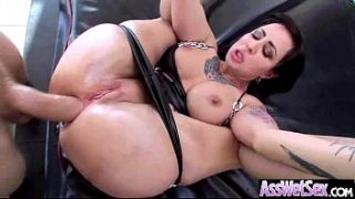 Anal Hardcore Sex With Big Butt OIled All Over Sexy Girl (dollie darko) clip-12