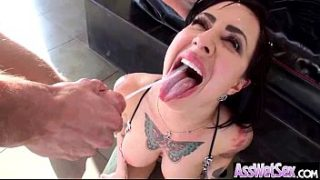 Anal Sex On Camera With Big Butt Curvy Oiled Girl (dollie darko) clip-11