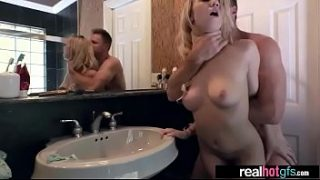 (bailey brooke) Hot Teen GF Nailed In Front Of Cam clip-07