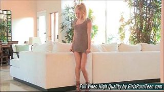 Staci xxx blonde solo dance sweet tits